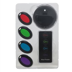 Essentials Electronic Key Finder 4 Channel (Multicolor)