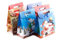 Extra Large Christmas Paper Bag Gift Set of 6