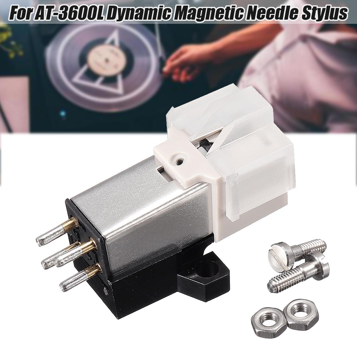 【Free Shipping + Super Deal + Limited Offer】AT-3600L Dynamic Magnetic  Needle Stylus FOR Audio Technica Record Player Metal