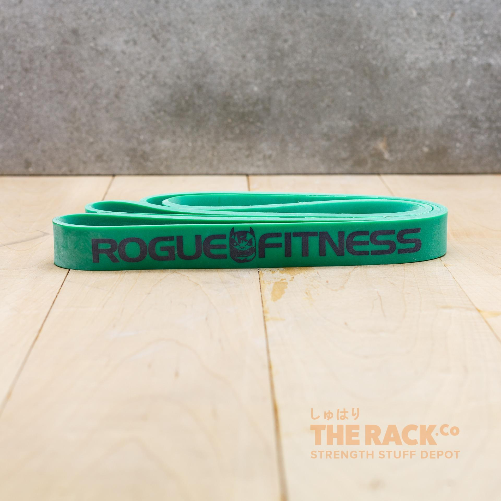 Rogue Monster Exercise Resistance Bands Green (65lbs )