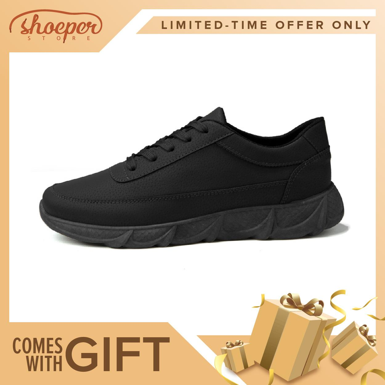 separation shoes f18d4 0ad0d ShoePer RYS-2 Sneakers Shoes for Men Jogging Walking Lace-up Anti-Skid