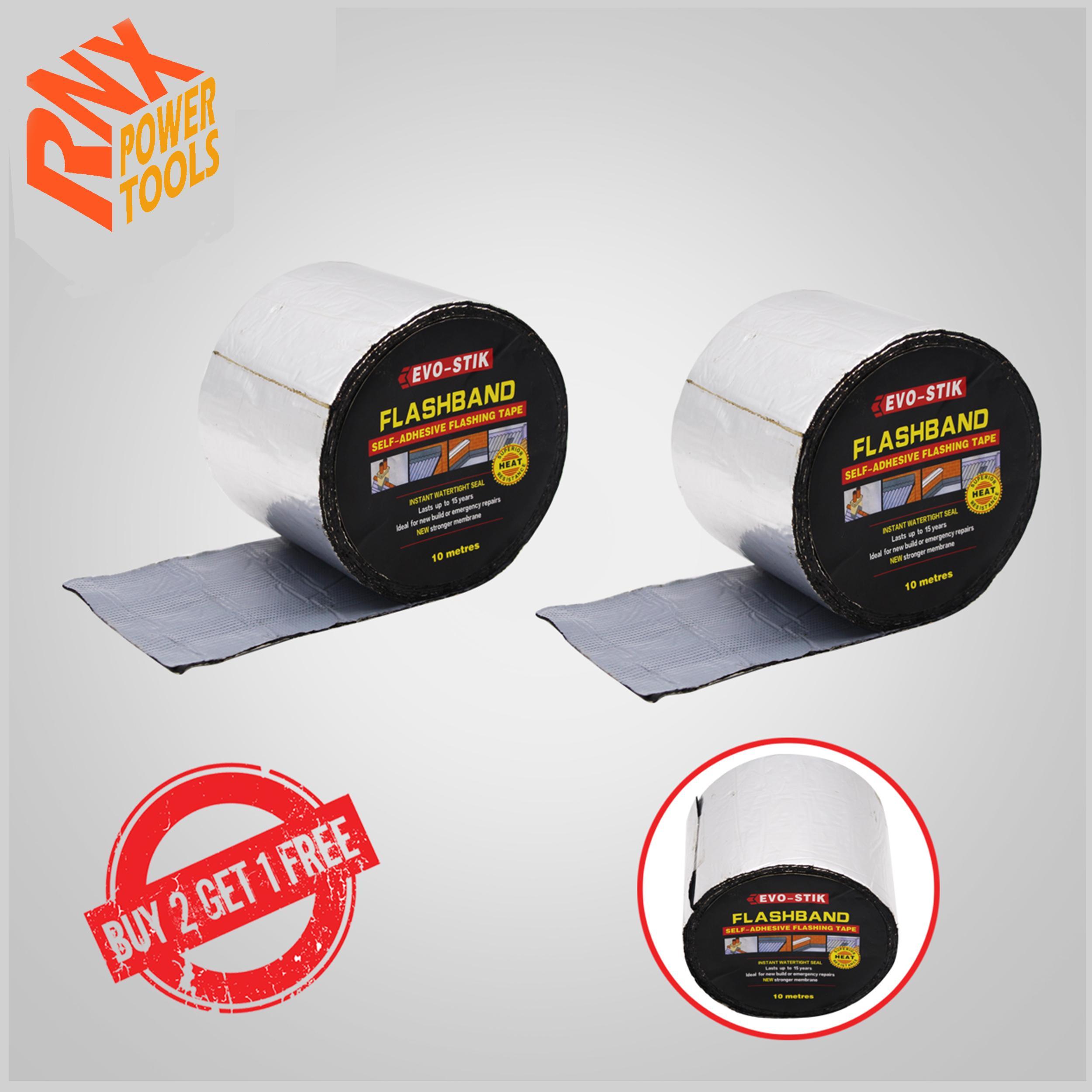 Buy 2 Get 1 Evo-Stik Flashband Self-Adhesive Flashing Tape (4