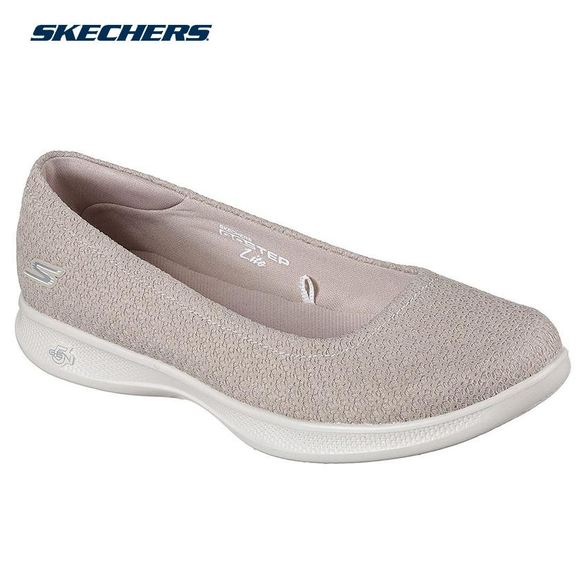 797dcc1c1f6f Skechers Women Go Step Lite - Enchanted Shape-Ups Footwear 14472-TPE (Taupe