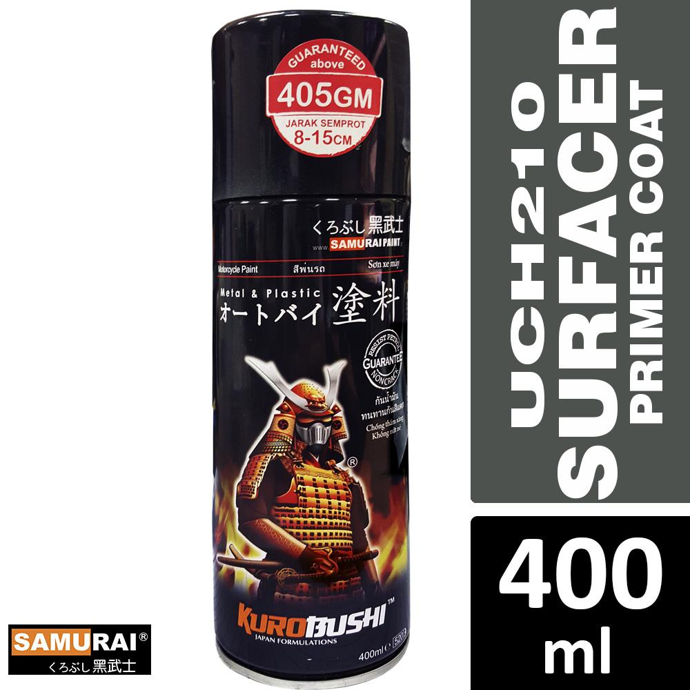 Samurai Uc H210 Surfacer Undercoat Primer Spray Paint 400ml Made In Malaysia