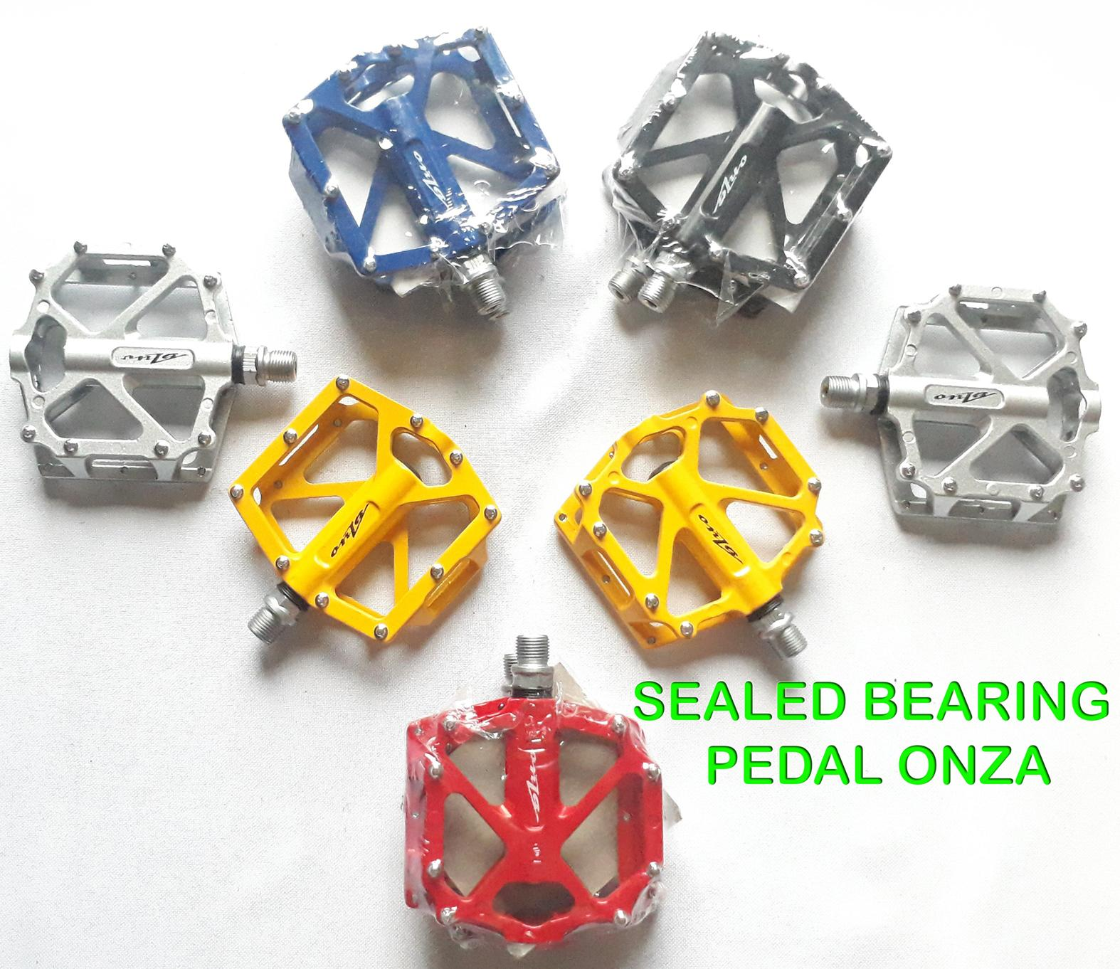 Pedal Mtb 9/16 Onza Sealed Bearing By Philbike.