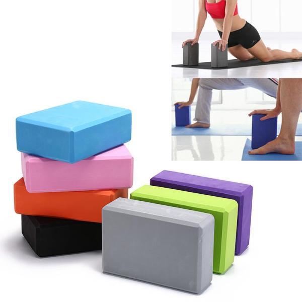 CCC Khối Tập Yoga Đạo Cụ Thể Dục Thể Thao, Hỗ Trợ Kéo Căng Gạch Xốp Nhà Pilates