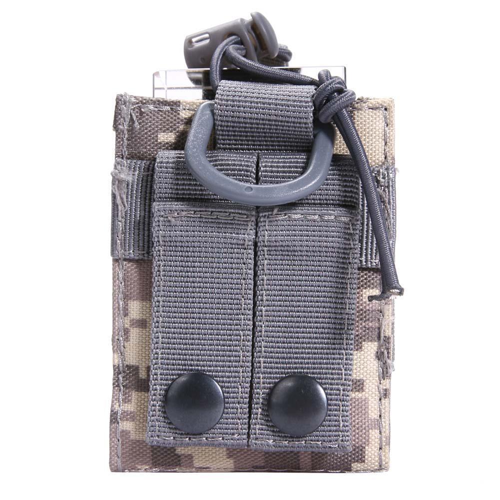 600D Nylon Radio Walkie Talkie Holder Bag Magazine Pouch Pocket Portable Kit