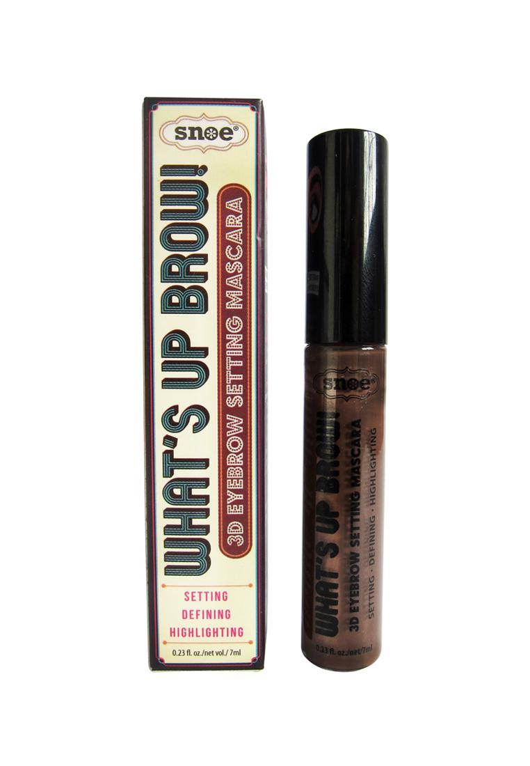 Snoe Whats Up Brow 3D Eyebrow Setting Mascara Ochre 7ml