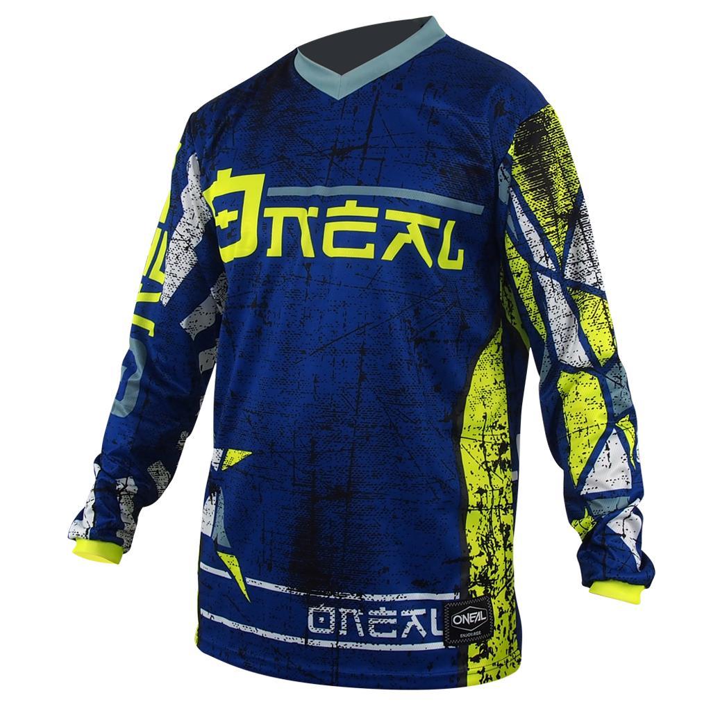 2019 O'Neal Element Racewear neongelb Jersey Trikot mx motocross mtb DH Enduro Hemden & Trikots