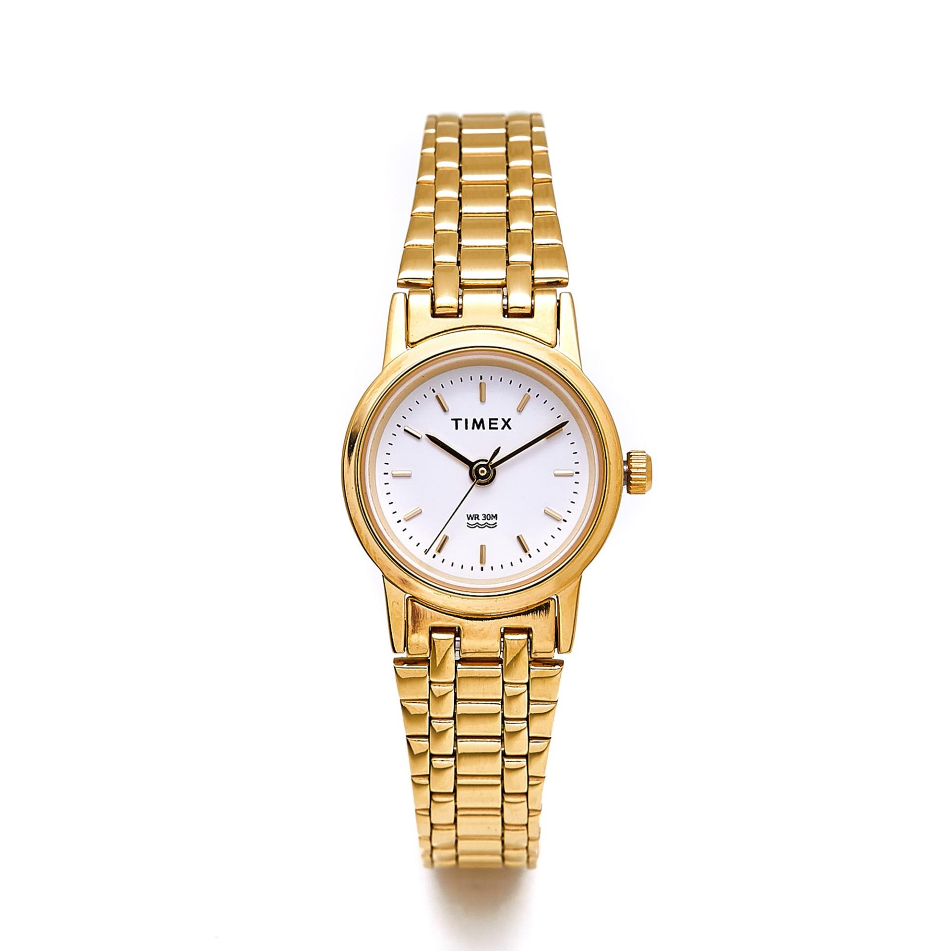 774e180f600c TIMEX Ladies Classics Gold Stainless Steel Watch TW00B303E CLASSICS