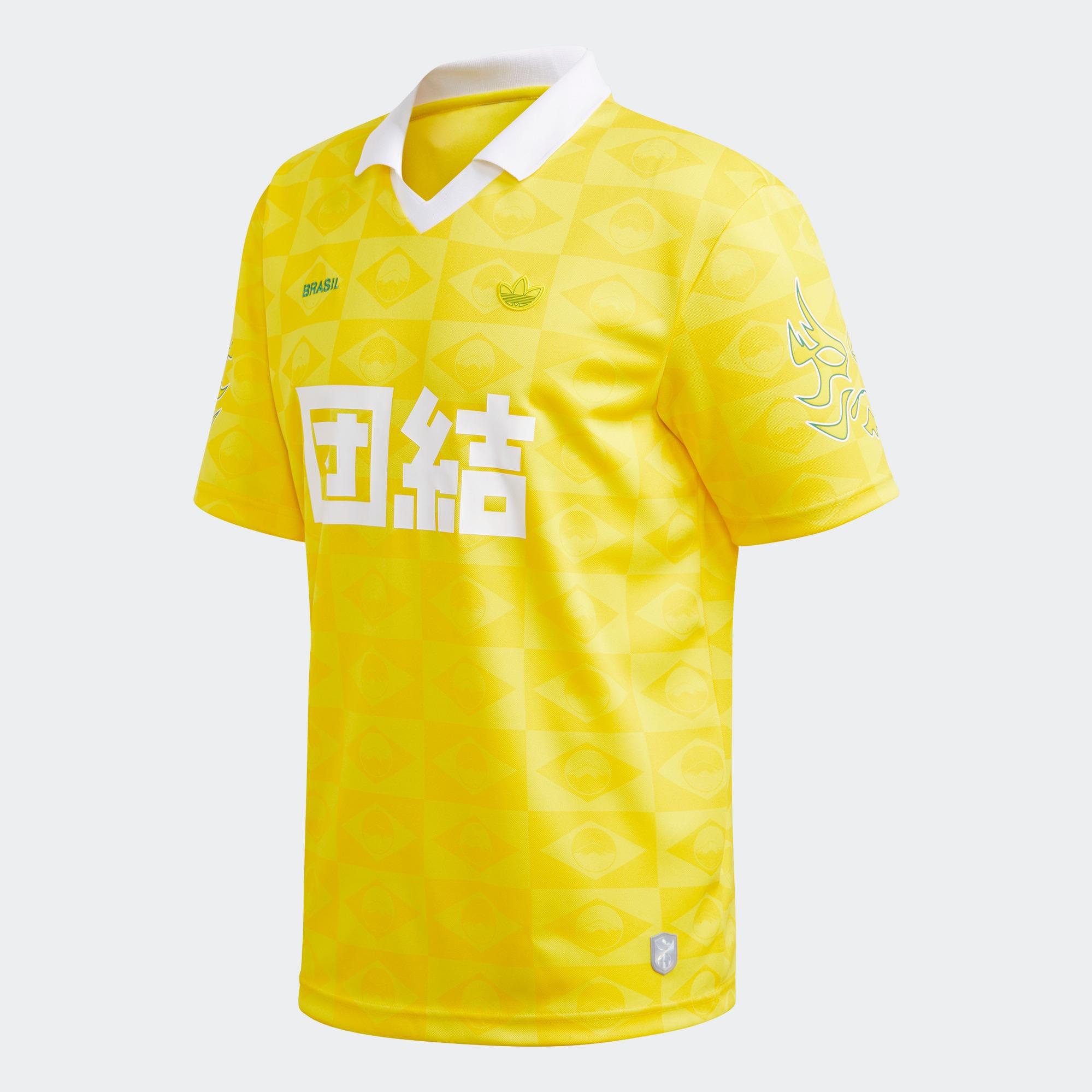 Sports Central Adidas Mens Brazil Jersey Originals, Yellow   Lazada PH