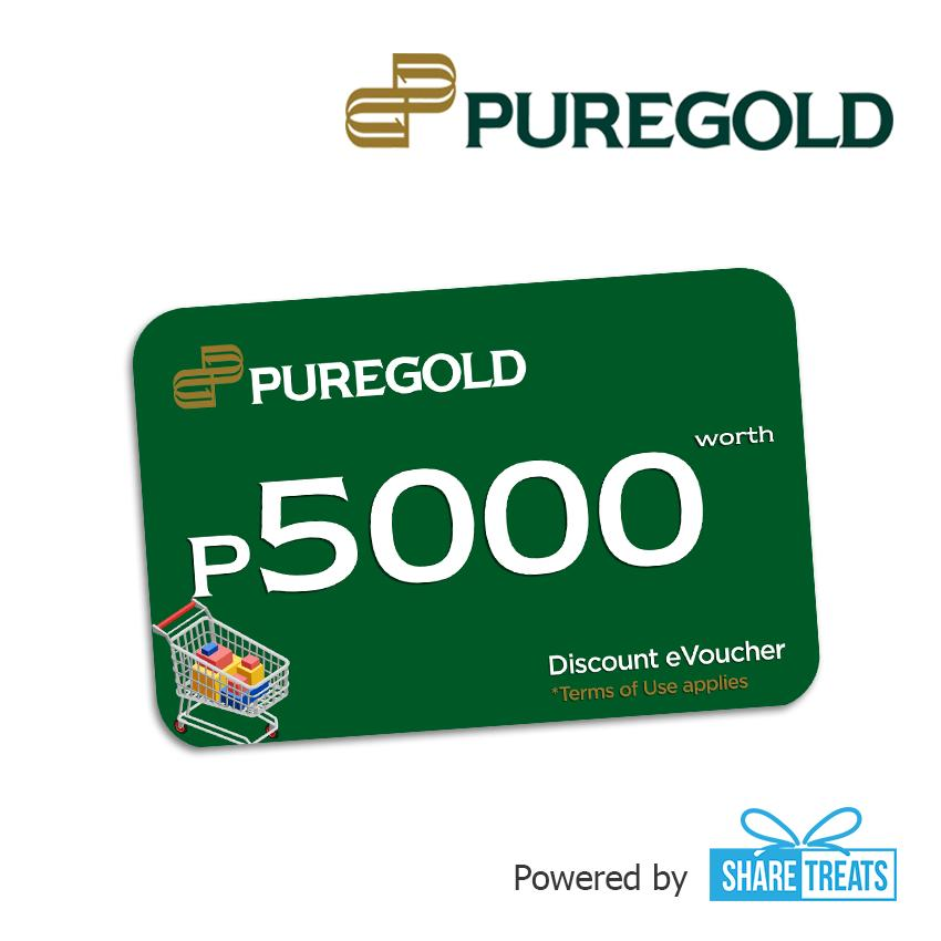 Puregold Php5000 Worth (sms Evoucher) By Share Treats.