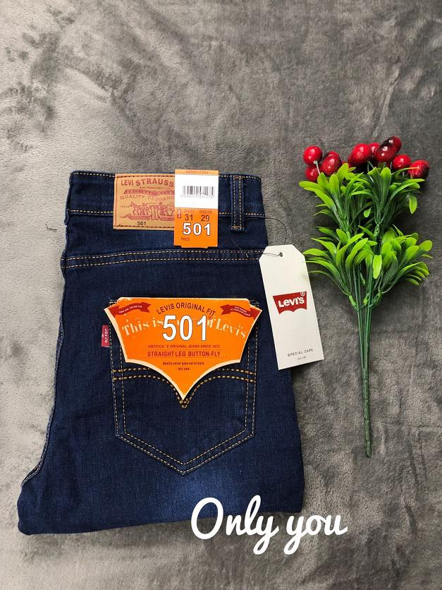 83517c1ff6 501 factory price big sale new Slim Fit Jeans, Men's Younger-Looking  Fashionable Colorful