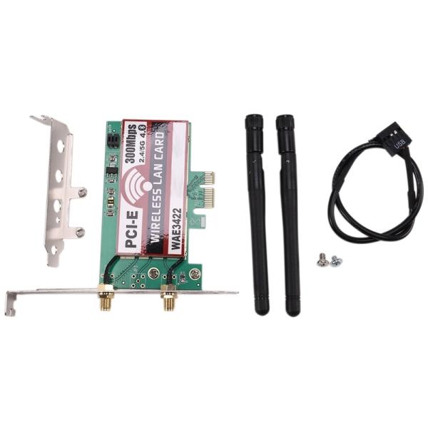 Bảng giá Network Card, Bluetooth 4.0 Dual-Band 2G/5G 300Mbps Pci-E Pci Express Wae3422 Network Card Wlan Wifi Adapter Phong Vũ