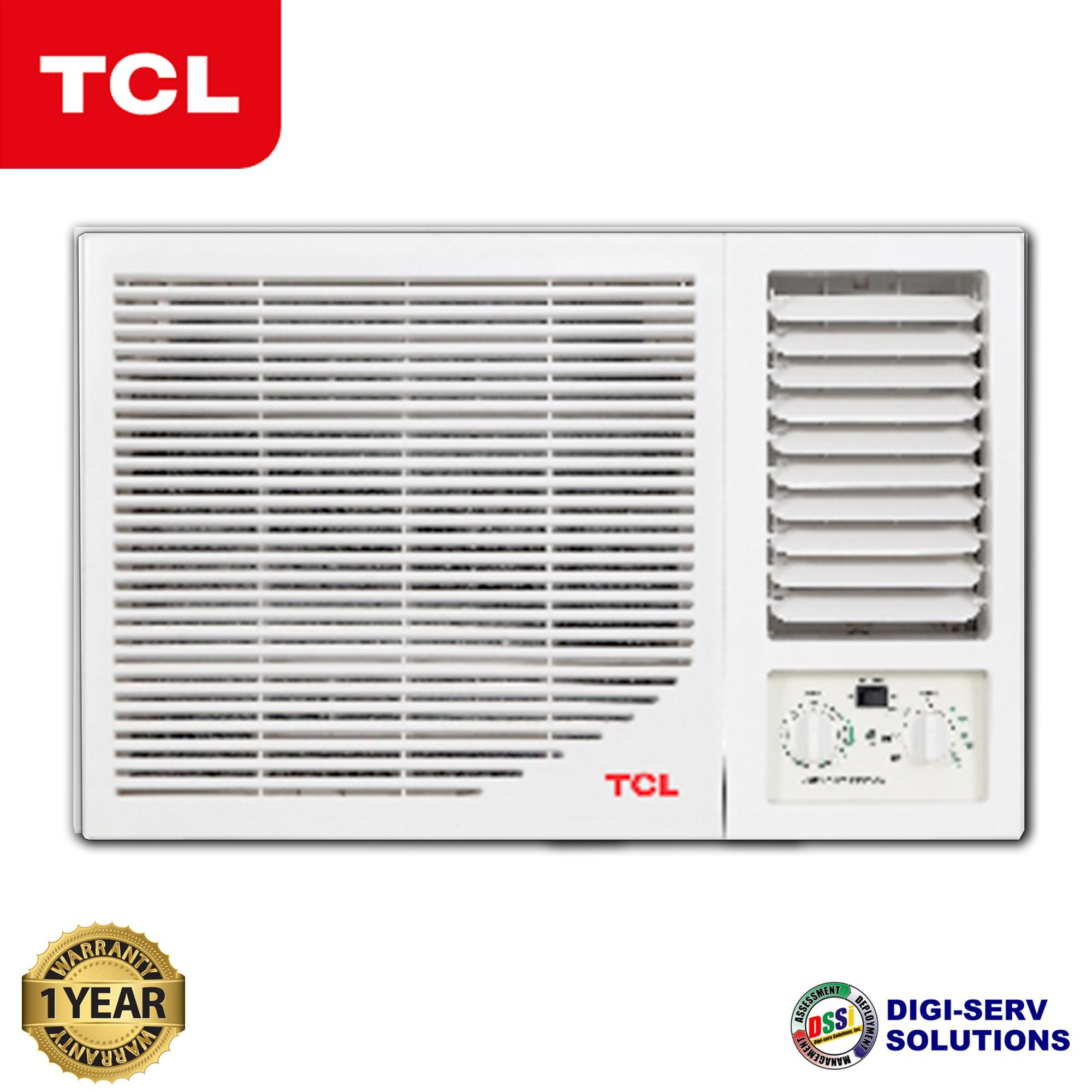 TCL TAC-09CWM/F (1 HP) Window Type Air Conditioner (Manual)
