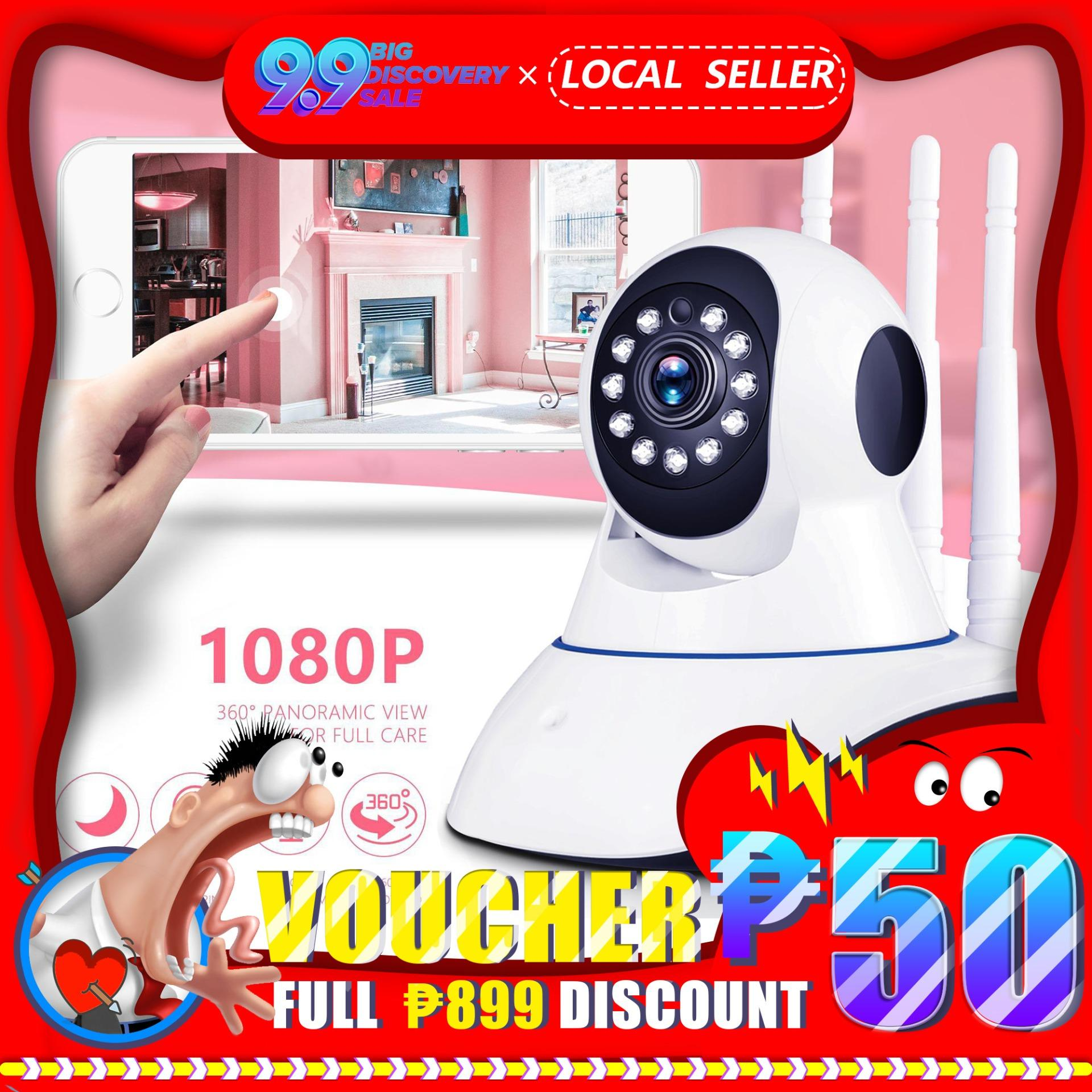 1080P IP Camera Wireless Home Security IP Camera Surveillance Camera Night  Vision Wifi Camera Baby Monitor