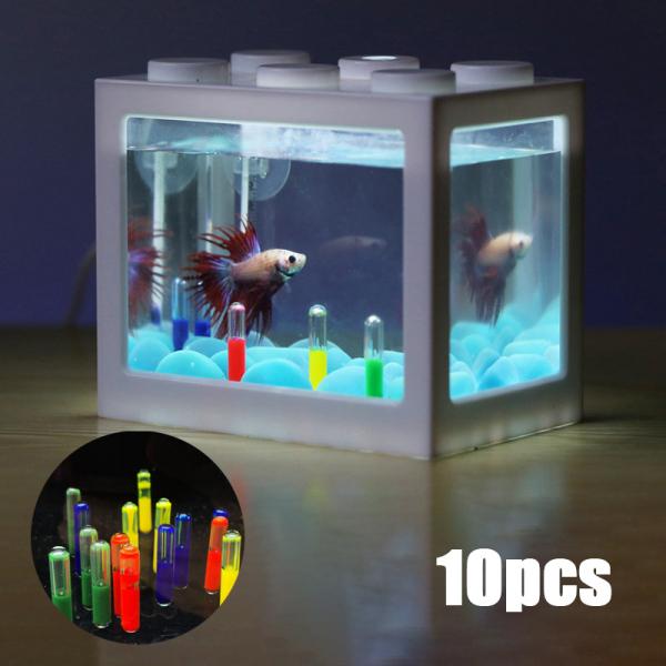lvzhiqi Aquarium tumbler Aquarium Landscaping Media Fish Tank for Home Supplies