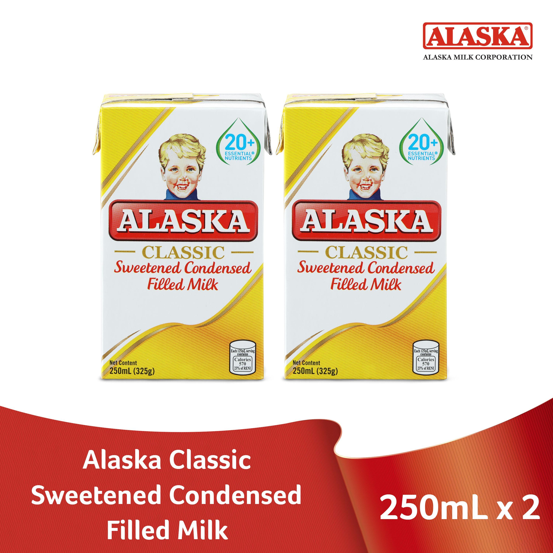 Alaska Sweetened Condensed Filled Milk 250ml Pack Of 2 By Alaska.