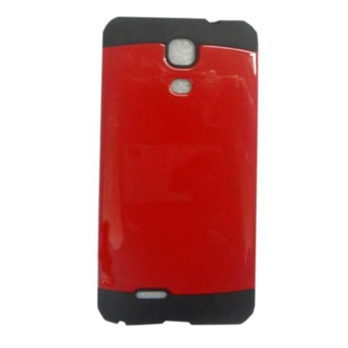 Slim Two Tone Hard TPU Case for Cherry Mobile Flare S4 (red)