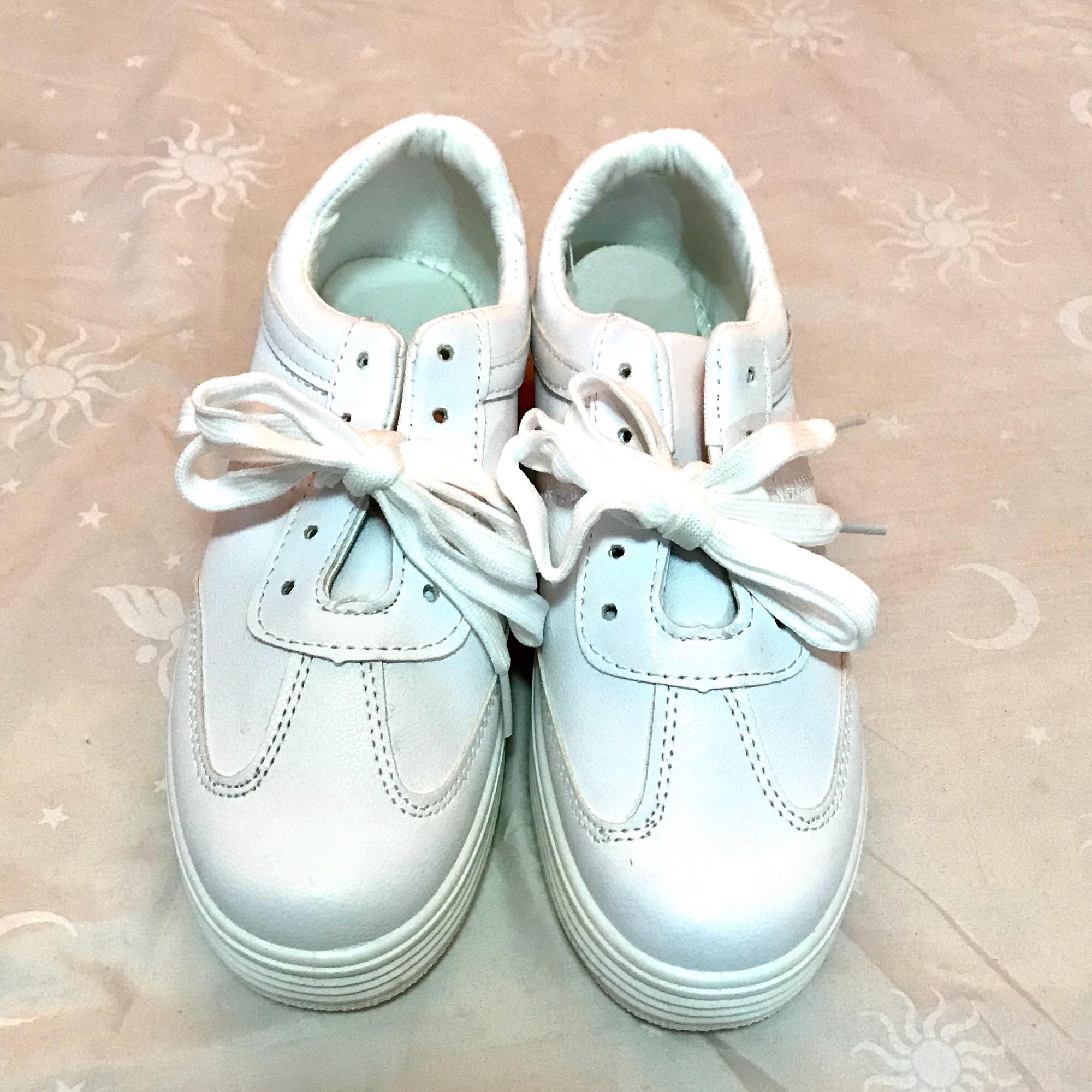Korean White Rubber Shoes: Buy sell