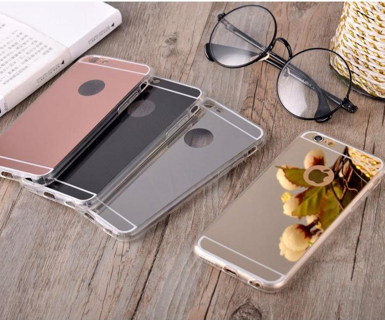 Mirror Reflection Iphone 5 5s 6 6s 7 8 Plus X Xr Xs Max Case By Aimidawooo.