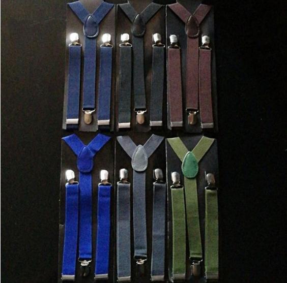 e2009bff893 Fashionline Unisex Clip on Adult Suspender Elastic Y-Shape Back Formal  Adjustable Braces
