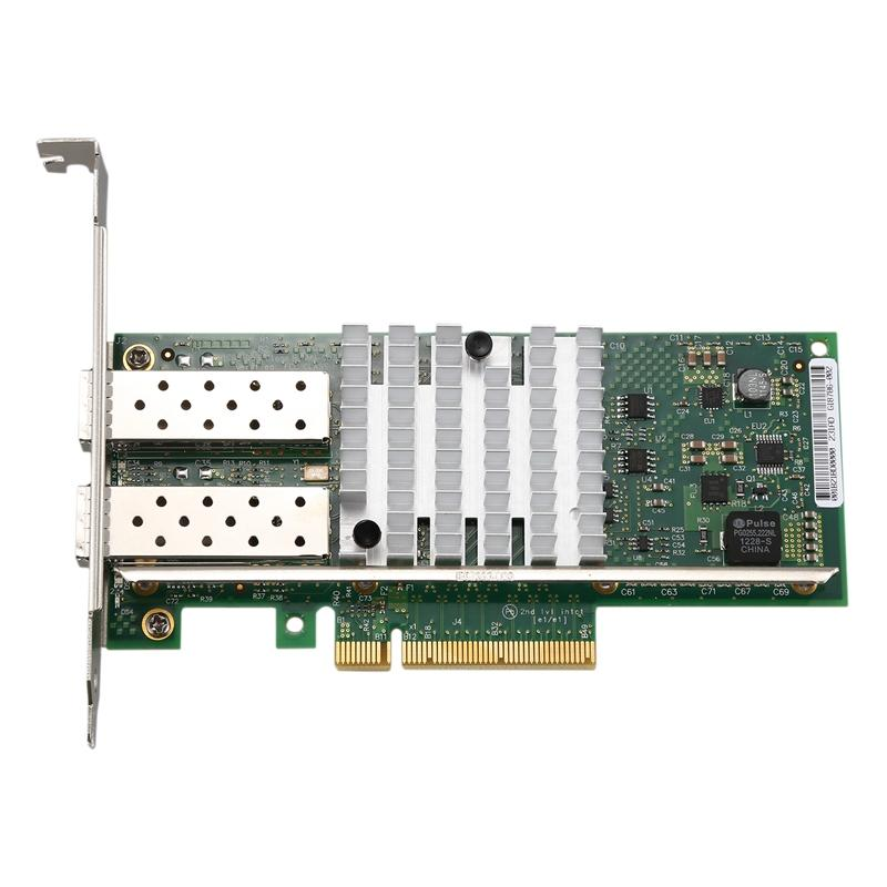 82599ES 10,000 MHz Fiber Optic Network Card E10G82599AF X520 Single and Multimode SFP+