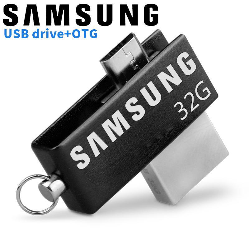SAMSUNG 32GB Metal OTG Pendrive High Speed USB Memory Stick 32GB pen Drive Real Capacity USB