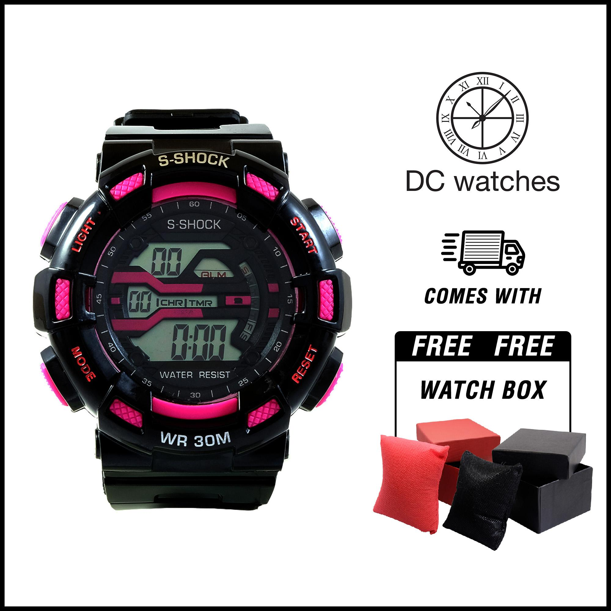DC Watches S-shock 9976 3bar DC Watches for men Sports Watches 30M  Waterproof Back 77dfb9df70