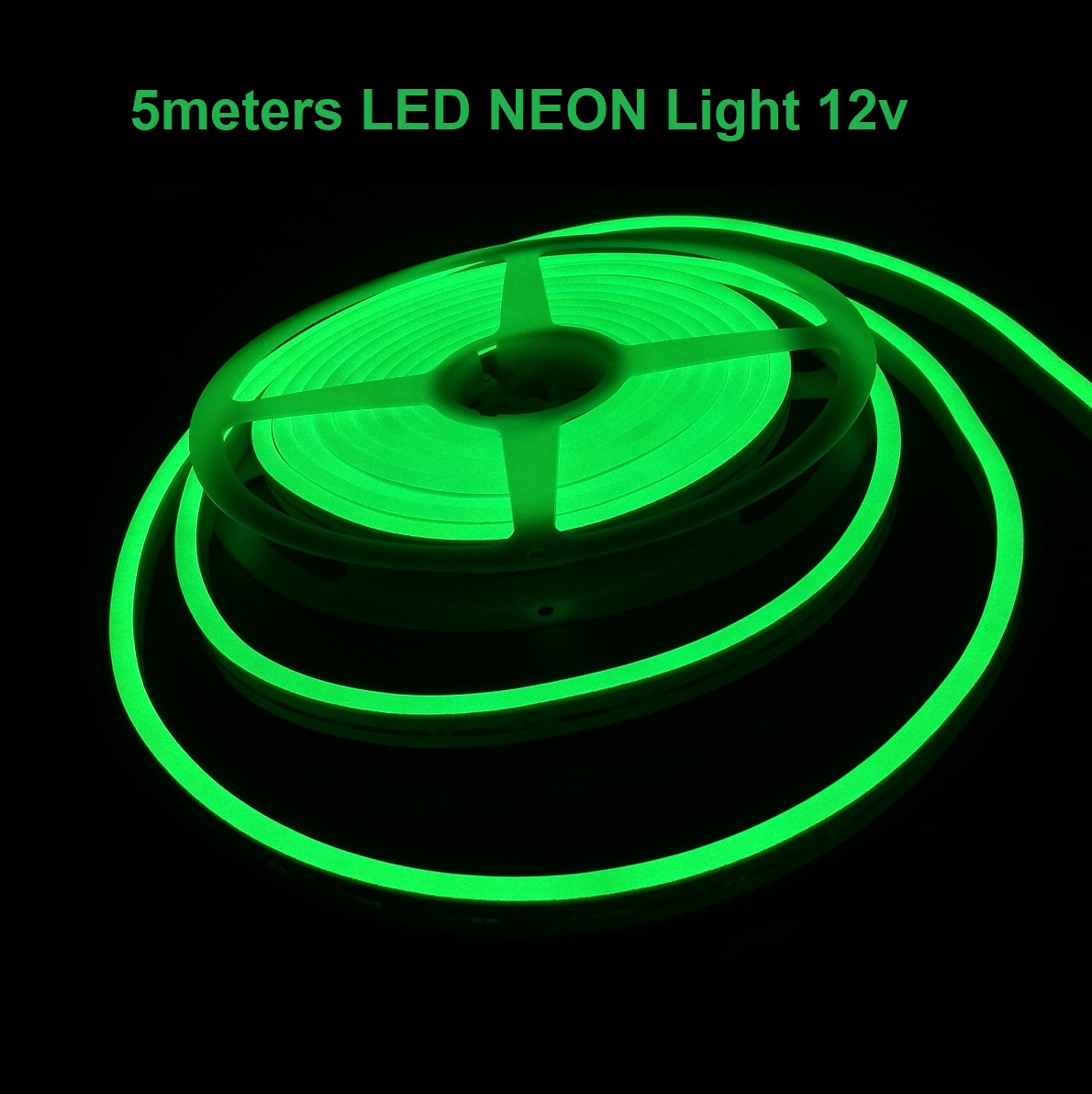 5meters Green Led Neon Strip Light For