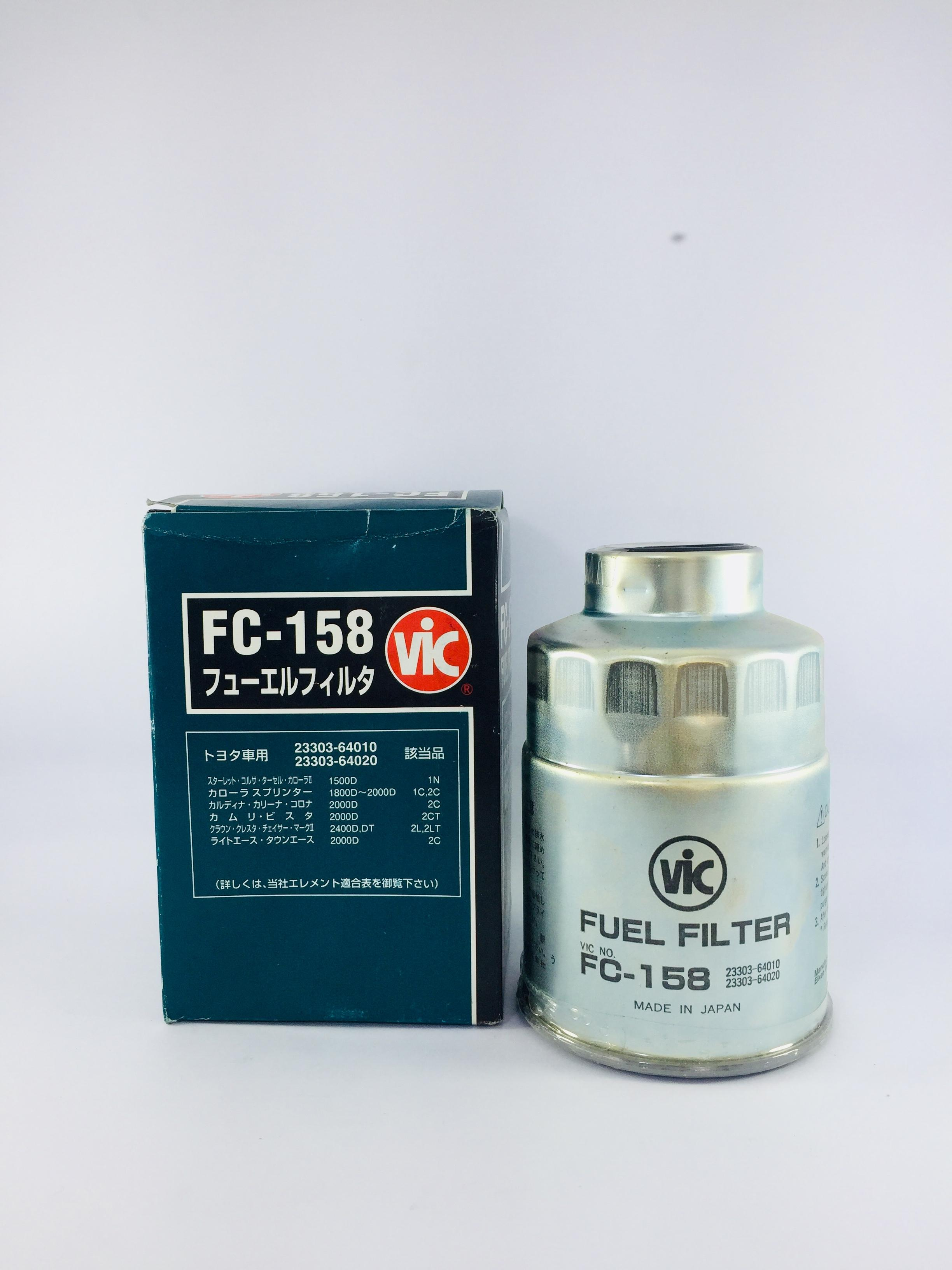 vic fuel filter fc-158 for toyota 1c,2c,2l engine