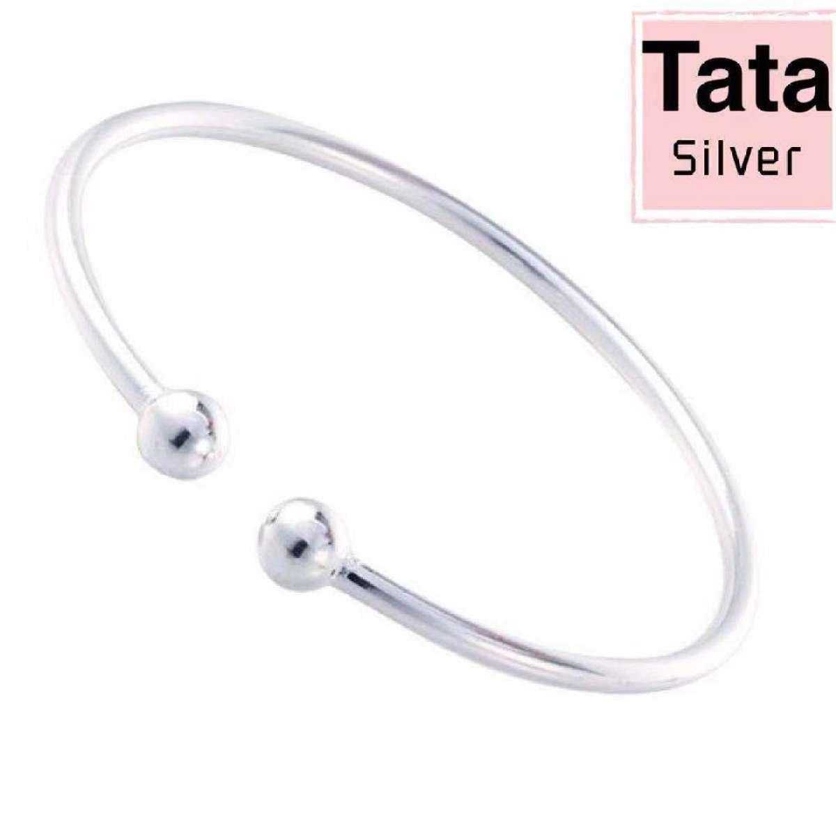 e915bed1ce0 Seoul Spring Fashion Silver Genuine 92.5% Italy Silver Bangle for ladies