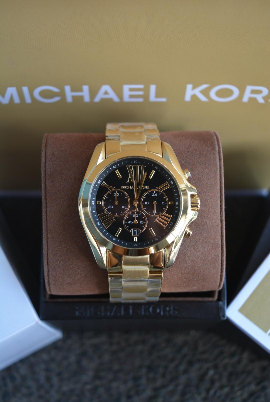 99cd7685187c Philippines. Michael Kors Bradshaw Black Dial Gold-tone Watch MK5739