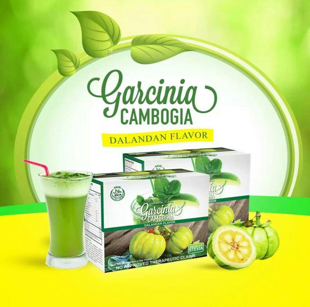 Garcinia Cambogia Powder Drink Mix Dalandan Flavor W Stevia 10