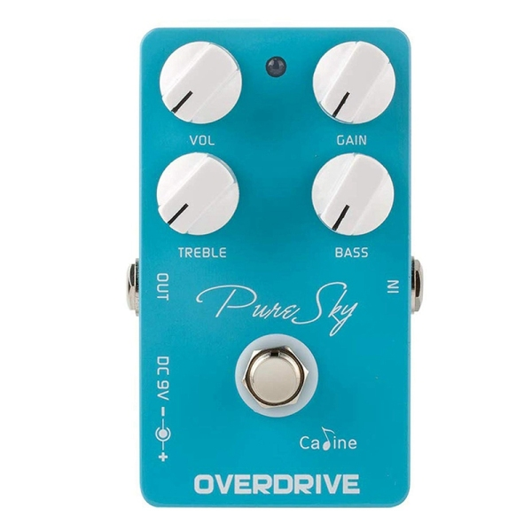 Caline Pure Sky OD Guitar Effect Pedal Highly Pure and Clean Overdrive Guitar Pedal Accessories CP-12