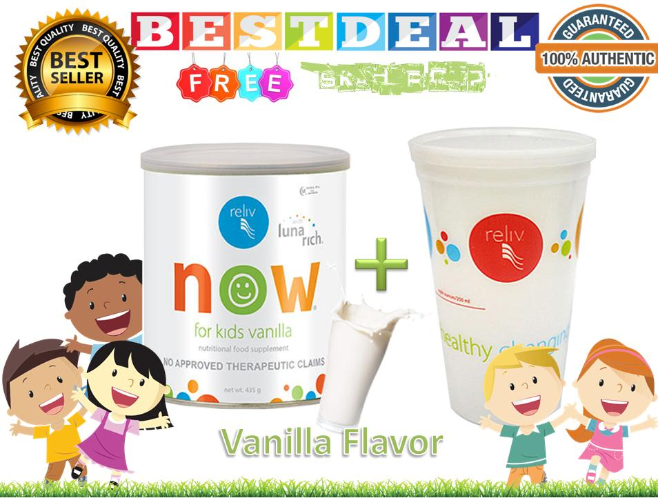 Reliv Now For Kids (vanilla) With Free Shaker Cup By Bestdeal O-Shopping.