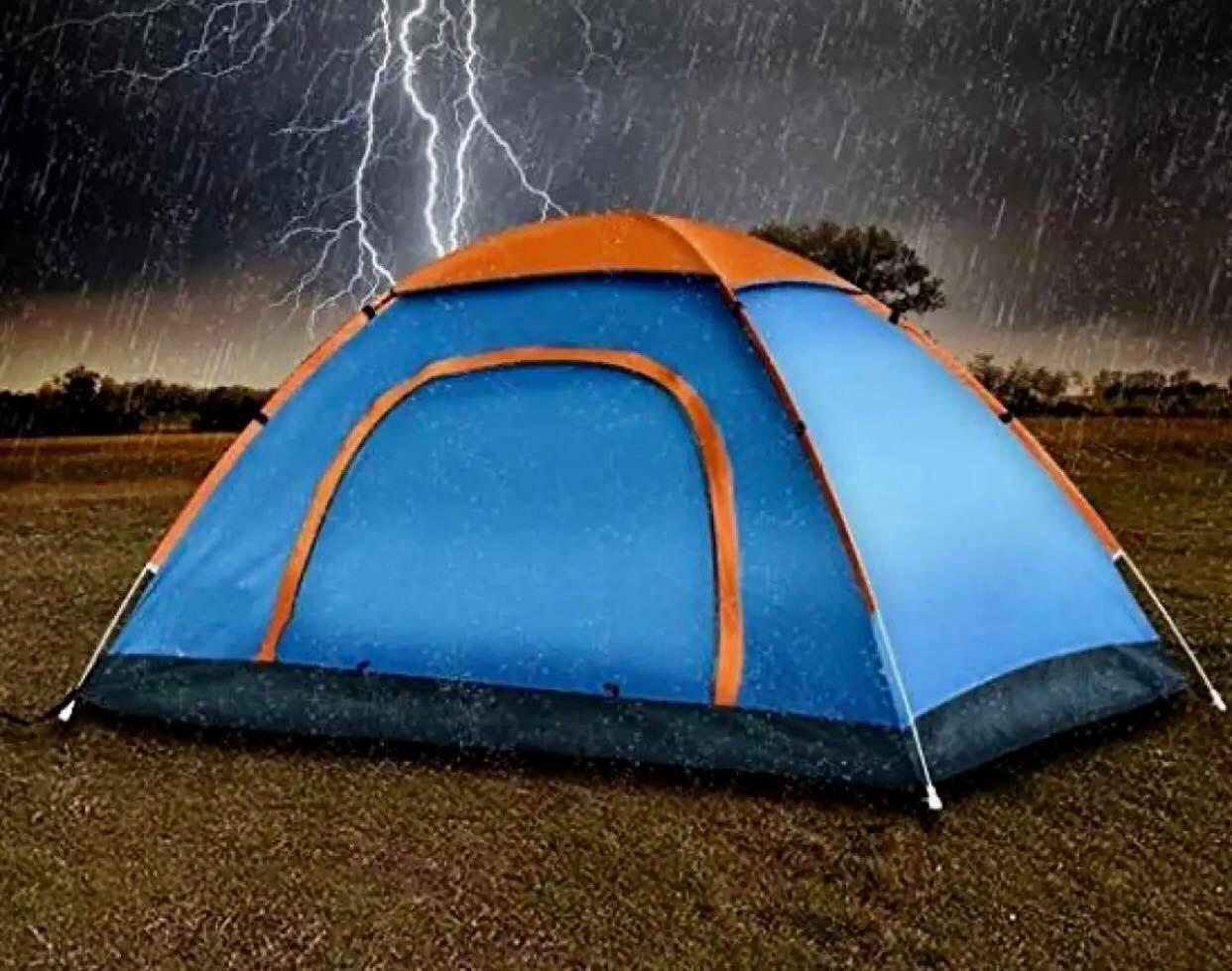 6 Person Waterproof Outdoor Dome Camping Family Hiking Tent (Multicolor)