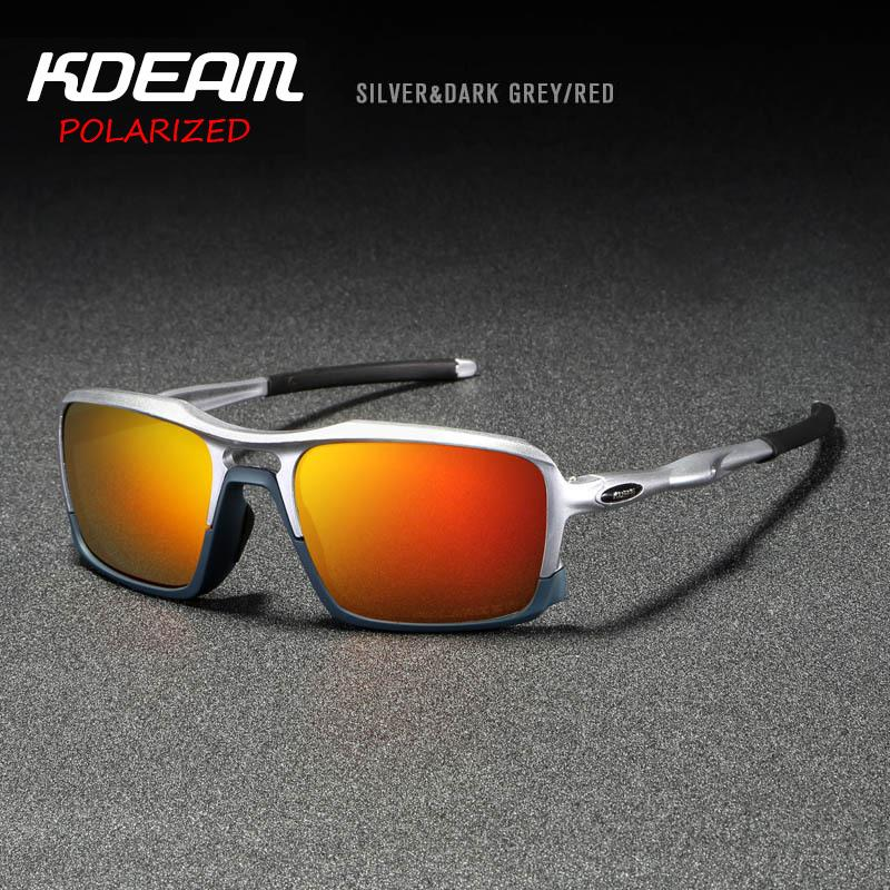 401c7a1941d6 Free Shipping COD KDEAM New Sports UV400 Sunglasses High-end Ultra-light  TR90 Frame