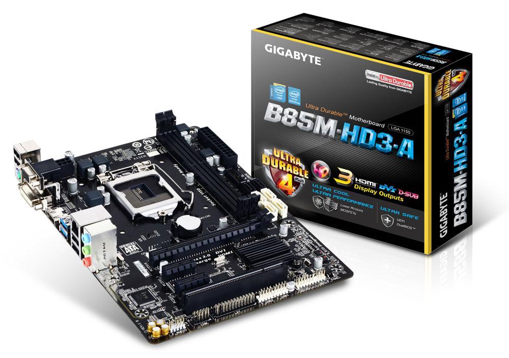 GIGABYTE GA-B85-HD3 Desktop Motherboard B85 Socket LGA 1150 i3 i5 i7 DDR3  16G Used Mainboard