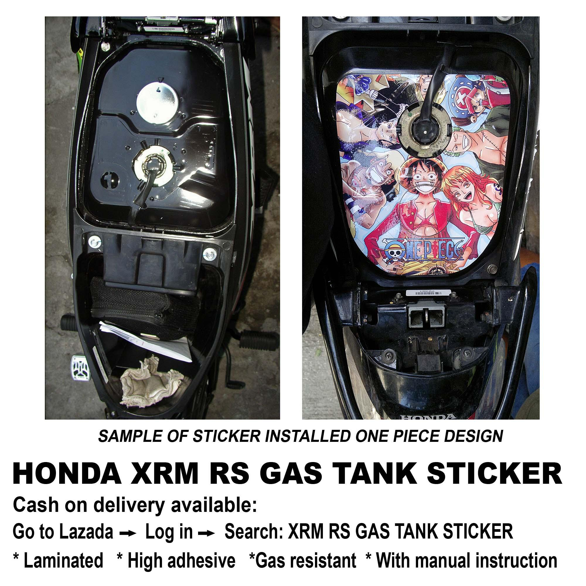 Xrm rs gas tank sticker anime girl 2 lazada ph