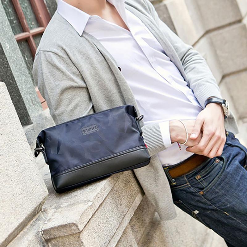 Men s Handbag Multi-functional Oxford Canvas Crossbody bag bags Small  Clutch bag bags Men s bag cfa1a63b249ba