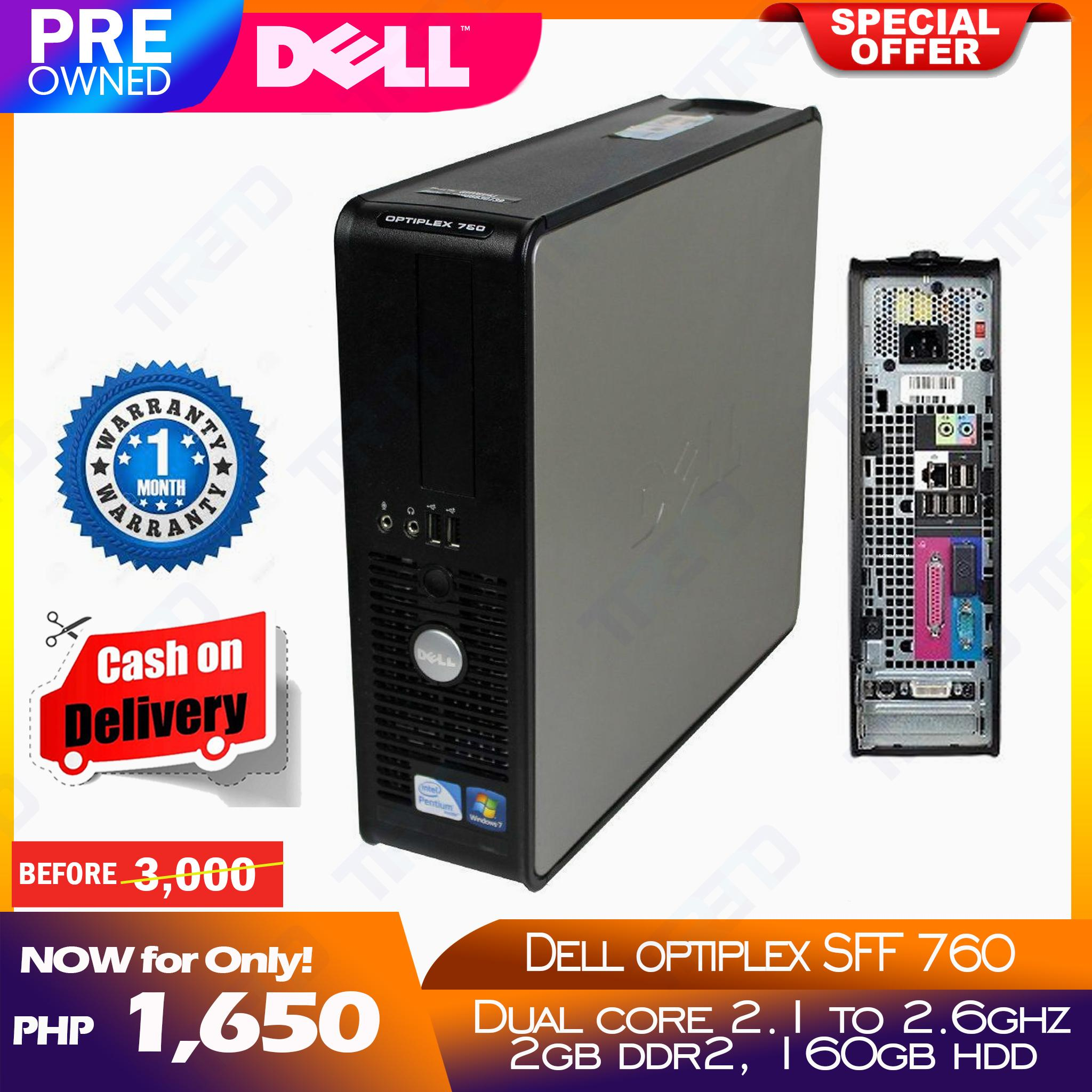 Dell Optiplex 760 SFF Slim Desktop PC