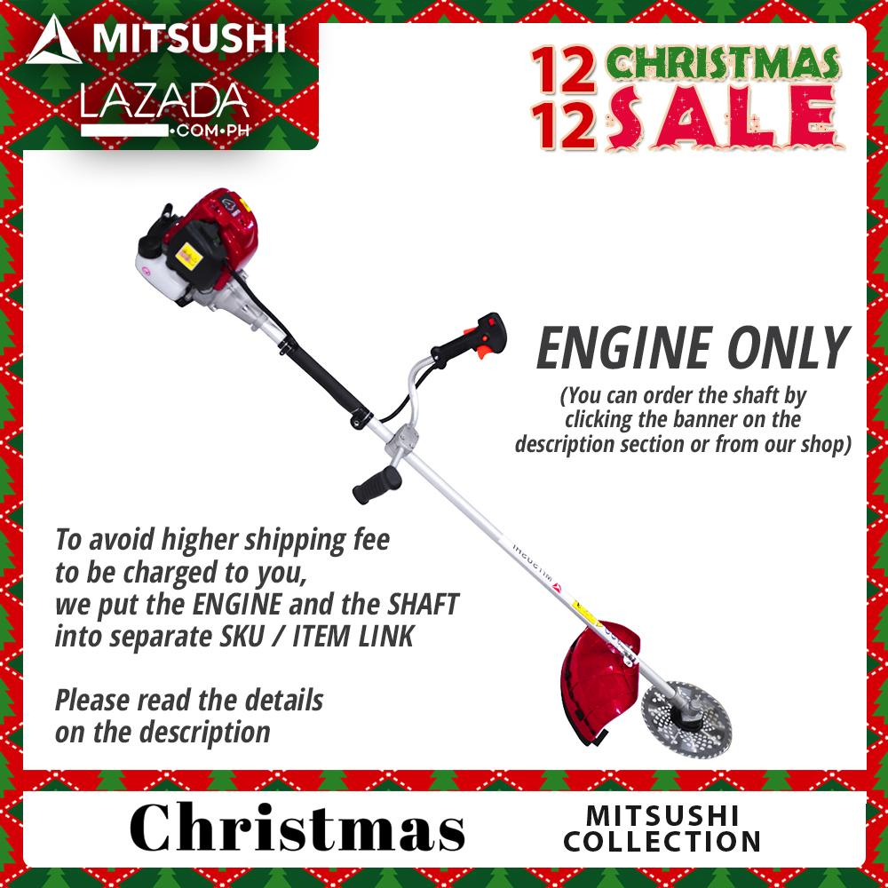 Mitsushi CG35 4 Stroke Air Cooled Brush Cutter Grass Cutter Engine Philippines