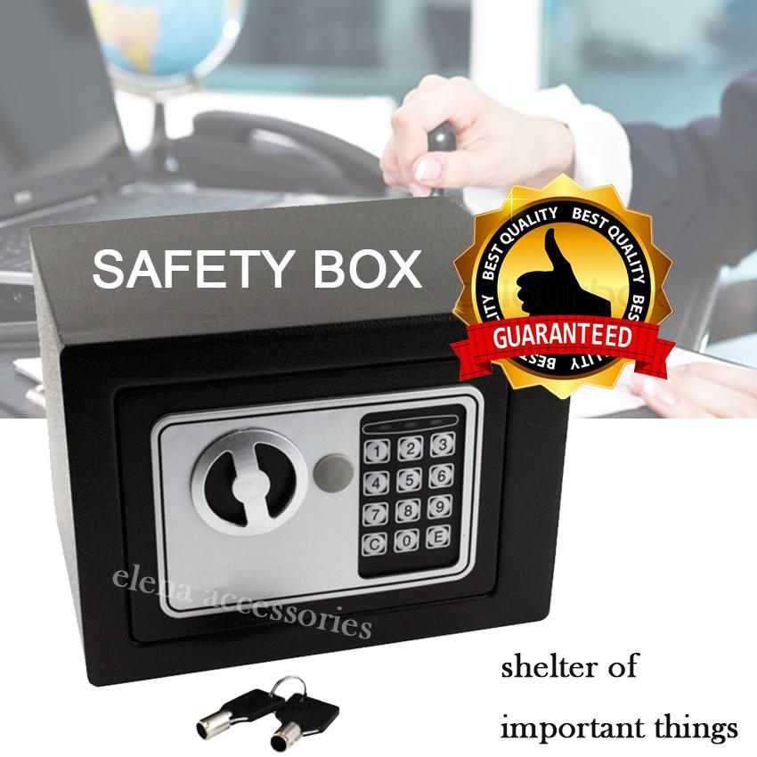 Home Office Professional Safety Box Home Digital Electronic Safe Box  Jewelry Money Anti-Theft Security Box