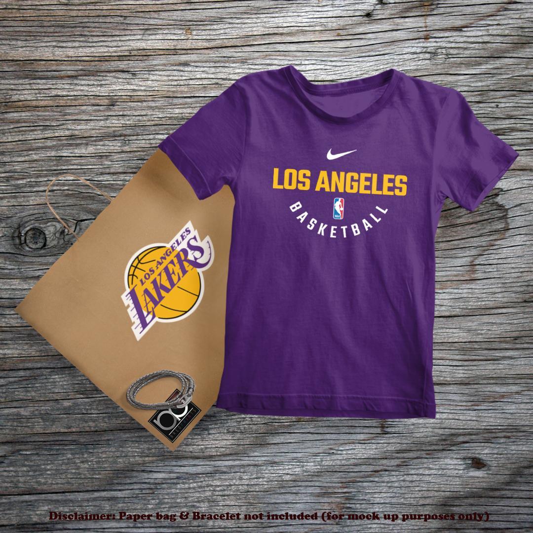 super popular 4d8dd 61a7d Los Angeles Lakers NBA Basketball Sports Team LA Tshirt for Kids
