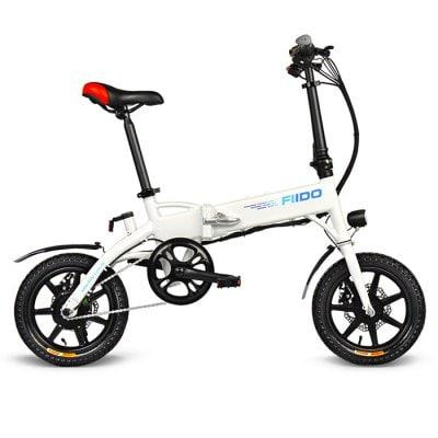 FIIDO D1 Folding Electric eBike Moped Bicycle E-bike - 7 8AH BATTERY