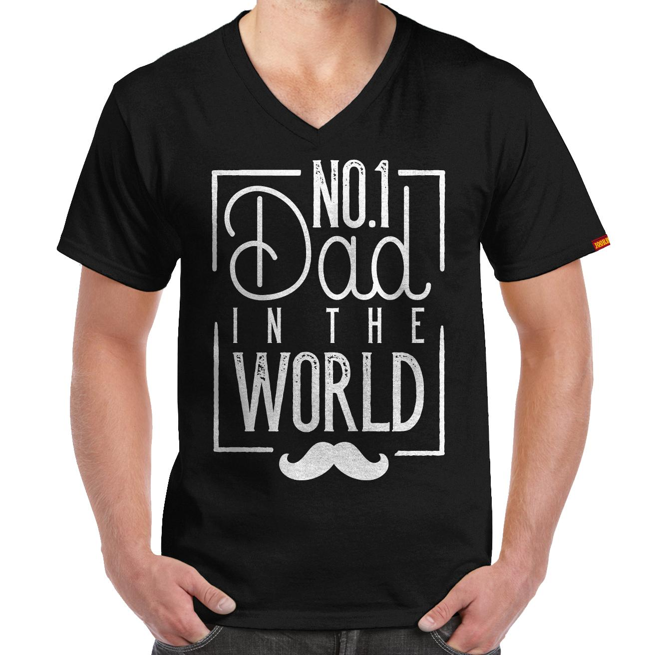 3470a8cdd JOORHEE No 1 Dad V-neck T-shirt: Buy sell online T-Shirts with cheap ...