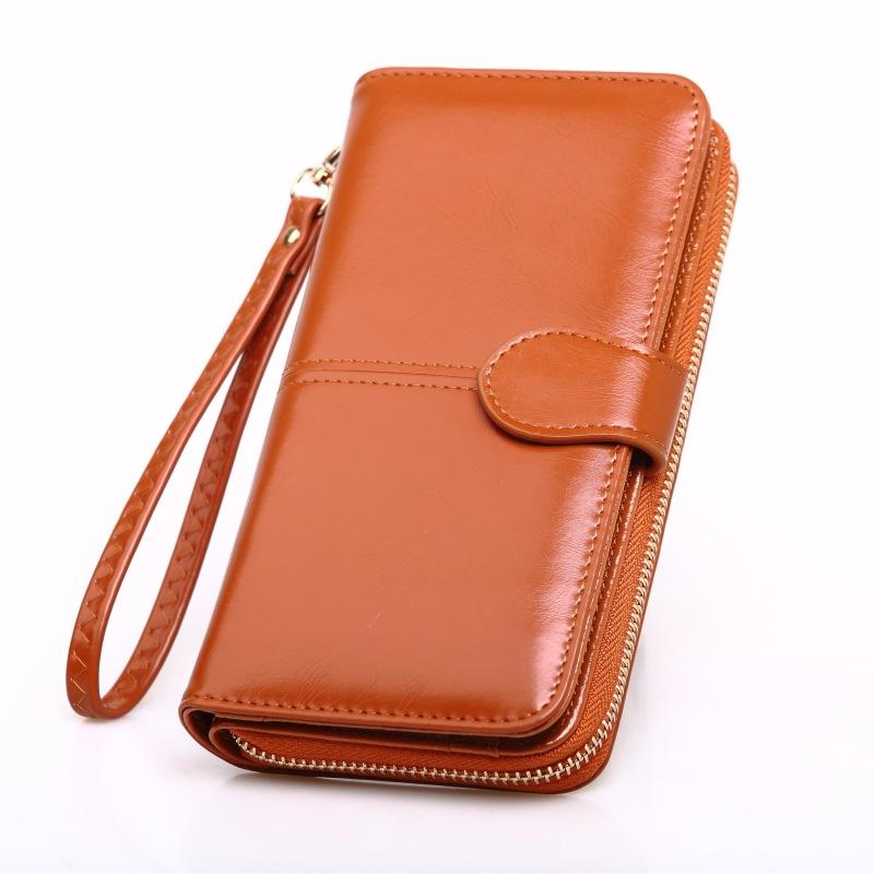 Tamia #WL146 Hot Sale Zipper Long Wallet Brand Coin Purse Leather Women Wallet Purse Wallet
