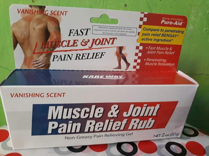 Pure-Aid Fast Muscle And Joint Pain Relief Rub By Sweetisa Imported Item.