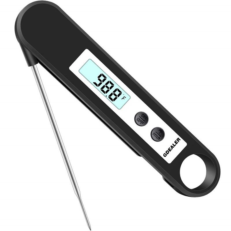 Gdealer Dt1 Digital Instant Read Meat Thermometer With Folding Probe Backlight Function Temperature Guide For For Kitchen Food Candy Bbq Grill Cooking Smoke... By Galleon.ph.